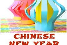 Holidays - Chinese New Year / Celebrate the Chinese New Year with The Cheerful Chalkboard! Find ideas to decorate your classroom and home. Lesson plans, games, projects, activities, and more!