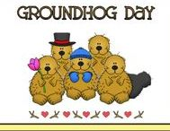 Holidays - Groundhog's Day / Celebrate Groundhog's Day with The Cheerful Chalkboard! Find ideas to decorate your classroom and home. Lesson plans, games, projects, activities, and more!