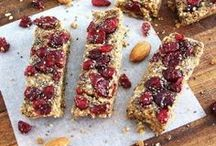 Protein bars and healthy bites