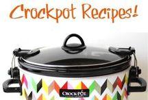 Crockpot Recipes / by Megan Meyer