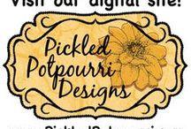 Digital Stamps @ Pickled Potpourri Designs / Projects and digital stamps and papers from Pickled Potpourri Designs (www.PickledPotpourri.com). Terms of use: www.pickled-potpourri.com/terms-of-use