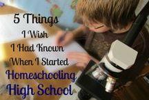caleb's highschool years / my oldest going into highschool as a homeschooler / by Kristi Lanford