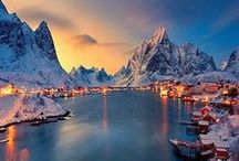 Amazing Snowscapes / A collection of fascinating snowy landcapes across the World