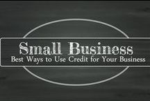 Small Business / Learn the best ways to use credit in your business. These resources will assist you in making sound personal and business decisions from loans to the perfect piece of plastic.