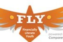 Financially Literate Youth / CompareCards is dedicated to preparing our youth for a bright future by educating them in finance and economics. Here are lesson plans, advice, and financial education opportunities for your whole family.
