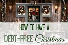 Christmas on a Budget / Great DIY gift ideas, shopping tips, and helpful advice for those who are on a budget this holiday season.