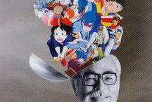 Hayao Miyazaki | Quentin Tarantino / hayao miyazaki and  quentin tarantino are my favorite directors  / by Renée Fairhurst