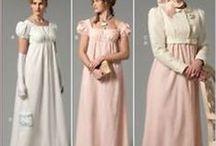 Patrons robe regency