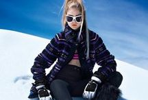 Ski Clothing / From retro ski wear to the latest ski fashion trends. Get inspired for your next trip to the slopes.