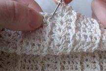 Coisas de crochet (Crochet ideas) / Ideias em crochet com instruções - Crochet ideas always with patterns