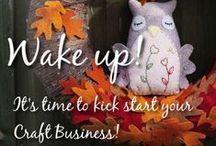 Craft Sale Vending, Quick Projects & Etsy Tips / Crochet, polymer clay, tutorials, quick craft makes, Etsy business boosting info, craft sale info
