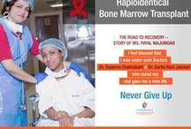 What is Haploidentical Bone Marrow Transplantation? / Haploidentical Bone Marrow Transplantation (BMT) is a procedure in which, instead of fully HLA matched family donor, a half HLA matched parent or sibling is the donor for bone marrow or blood stem cells.