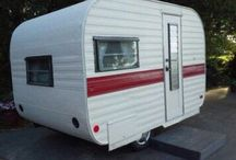 Vintage campers / Vintage travel trailers / campers / by David Churchill