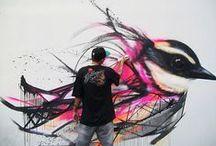 Street art around the world / #streetart #spraypaint #urbanart #graffiti