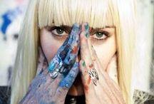 Elle Street Art / Liquitex Brand Ambassador, Elle