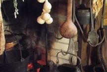 rustic warmth / cozy snug rustic elements, traditional family values