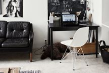 Work Space / Home office interior