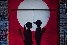 Street art / Beautiful spots