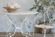 Vintage Gardentable and...