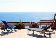 Villa Orizzonte - Ferienwohnung / Himmlischer Meerblick von den beiden Terrassen