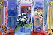 Raoul Dufy~paintings / フランスの画家、ラウル・デュフィ(1877-1953)の水彩画を中心にピンしています