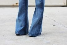 Flared jeans - ooh yes! / Not skinny jeans