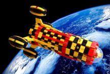 LEGO ruimteschepen