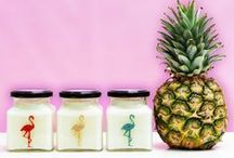 Cocktails - S/S 2015 / http://www.flamingocandles.co.uk/scented-candles/cocktails.html