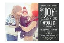 Customizable Christmas Cards / Christmas cards that can be customized with your own photos and text