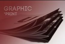GRAPHIC - print / All graphic print design, book, poster, paper thing, origami
