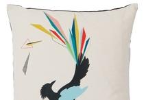 FUNKLE - Gullfuglen cushion