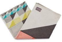 FUNKLE - Gullfuglen jacquard blanket - Multicoloured