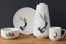 FUNKLE - Gullfuglen porcelain - Multicoloured