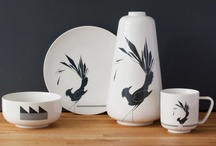 FUNKLE - Gullfuglen porcelain - Grey