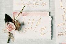 Wedding stationery lovin