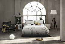 FUNKLE - The Power Collection - Electric Dreams bedding set - WHITE & BLACK