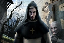 NICOLAS EYMERICH, THE INQUISITOR / The adventure game saga in four books, in which you play the role of Nicholas Eymerich, THE INQUISITOR who fights the forces of evil at any cost. / by Microïds Official