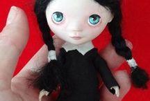 I love dolls / to warm my heart