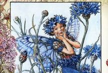 flower fairies pictures XXL / Cecile M. Barker flower fairies but then big size pictures via russian site