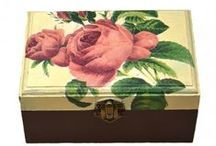 Handmade box / Decoupage