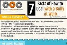 Workplace Bullying / Are you being bullied in the workplace? Have you heard of a friend, spouse, or family member being bullied at work? Check out our posts to learn more about workplace bullying and ways to stop it!