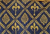 Medieval embroidery and sewing