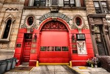 Firehouse Style / Photography of firehouses, fire departments and fire related items!