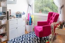 Packed Party Office Inspiration - Office Design / The Brightest and Happiest Desk In All The Office Space