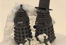 Fandom | Classy Doctor Who Wedding / Wedding decor, details, dresses, etc.