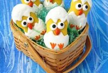 Easter Recipes + Craft / Fun and festive ideas for Easter.  Easter recipes: appetizer, dinner, ideas for Easter brunch, desserts, cookies, and more! Easter craft, decorations, and printables.