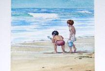 Minhas Aguarelas - Watercolors