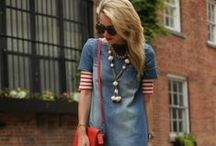Into the Denim World / Have passion for denim? Me too. This board shows the versatility of denim style.