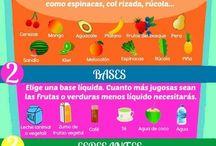 Food/ Comida / Food: healthy, drinks and sweet