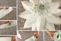 Hand made and DIY stuff/ Manualidades / Hand made, DIY, party decorations and flowers